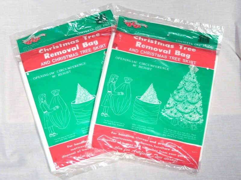 Disposable Christmas Tree Bags