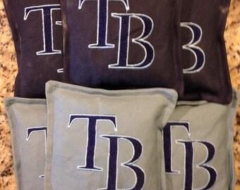 Florida Embroidered cornhole bags set of 10