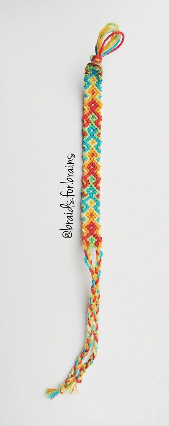 items similar to arrowhead friendship bracelet on etsy