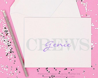 Personalized Stationery - Couples Stationery - Personalized Note Cards