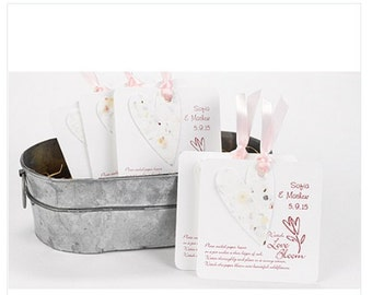 Personalized Wedding Seed Favors (Pack of 50)