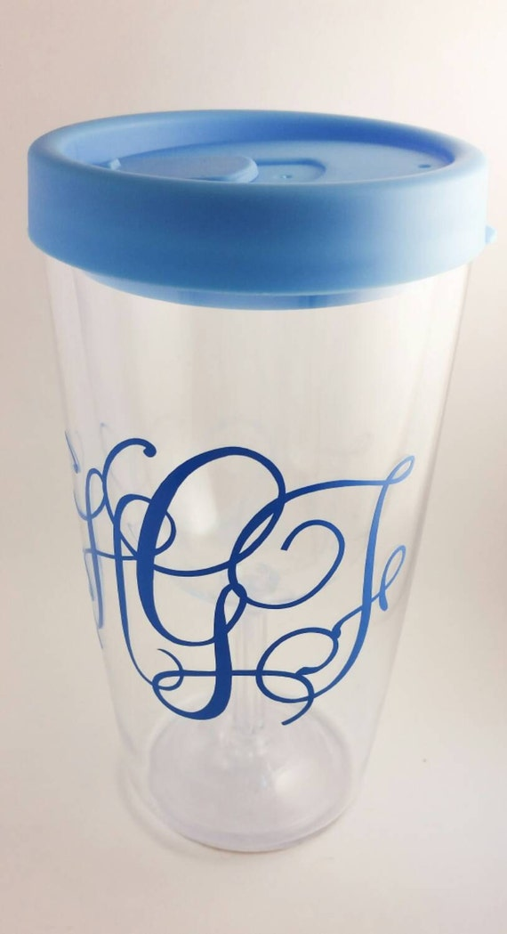 Wine2go Wine Tumbler Personalized Cup Monogram By