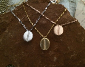 Coffee Bean Necklace