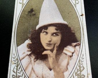 Antique Trade Card - Jennie Goldthwaite