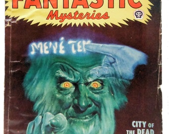 Famous Fantastic Mysteries April 1948 Science Fiction
