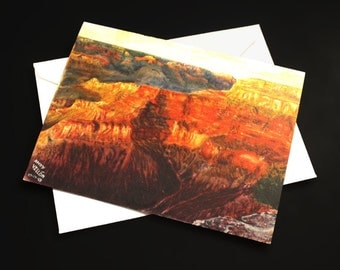 Grand Canyon Note Card - Set of 3 or 6 with envelopes