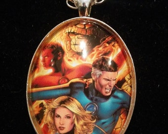 Marvel Fantastic Four Large Pendant