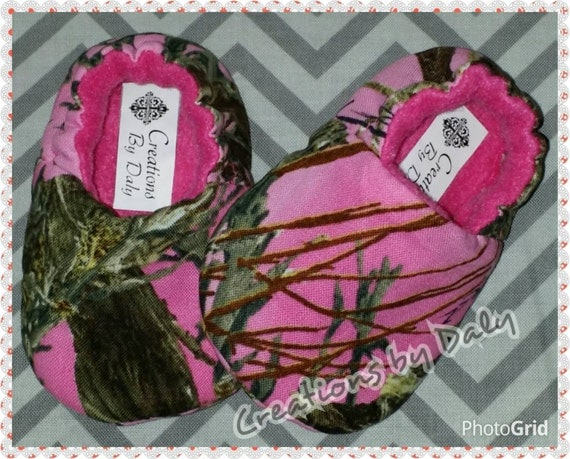 baby shoes pink camo shoes camo baby by