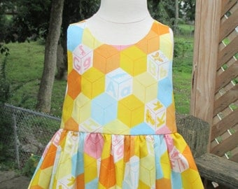 A Is For Alligator Baby Dress
