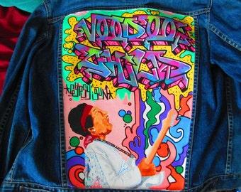 Custom Jean Jacket *Graffiti*