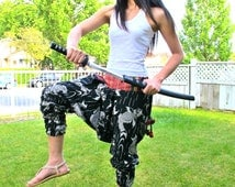 Large Koi Fish Ninja Pants (Unisex) NK9a