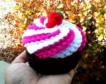 Crochet Cup Cake Pin Cushion