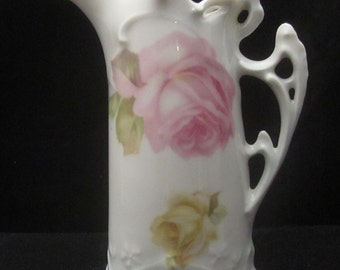 Ornate Pitcher with RS Germany Mark