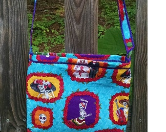 Day of the Dead Crossbody Pouch Bag