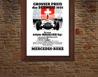 Mercedes Benz 1938 Swiss Grand Prix