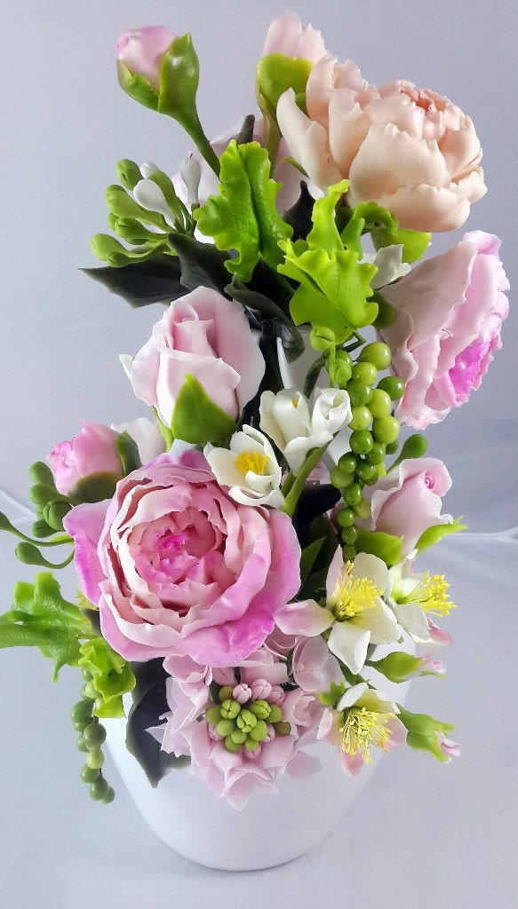 flower arrangements home decor bouquet of roses and