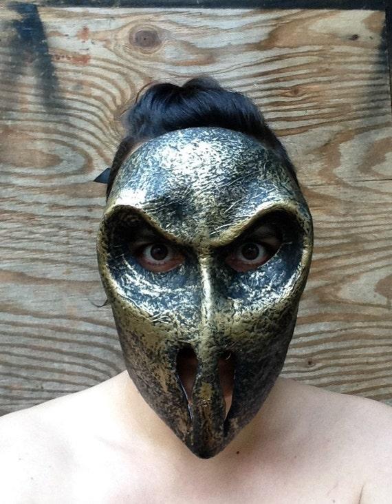 armure masque masque de monstre de papier mâché masque
