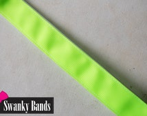 Highlighter- Neon colored No slip headbands, non-slip headband, Sporty headband, Neon Headband, Athletic Headband, Swanky Bands, Hair