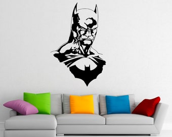 superhero wall decals etsy au