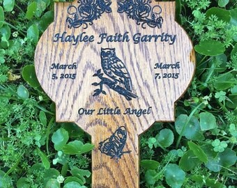 Memorial  Marker / Roadside Marker/ Temporary Grave Markers/ Pet Markers