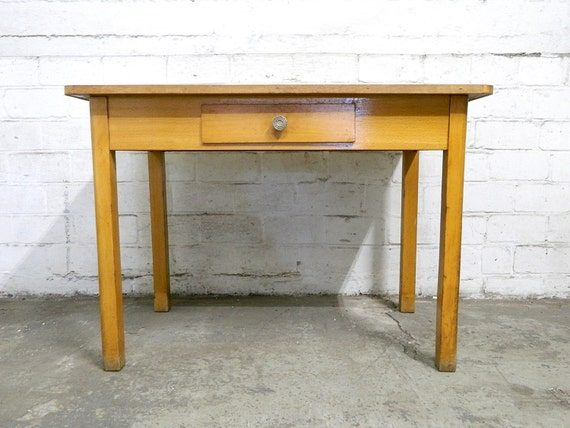 1940s table work table kitchen table dining table