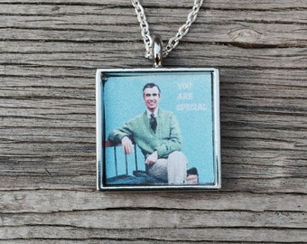 Mr. Rogers Pendant Necklace
