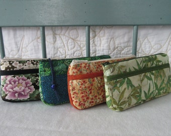 Fabric Clutch or Cosmetic Bag