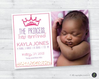 Princess Birth Announcement