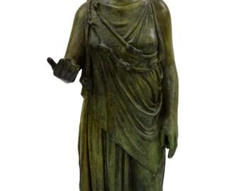 Athena Piraeus Goddess of Wisdom and Strategy Great bronze sculpture statue