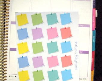 Post-It Note Planner Stickers (small)