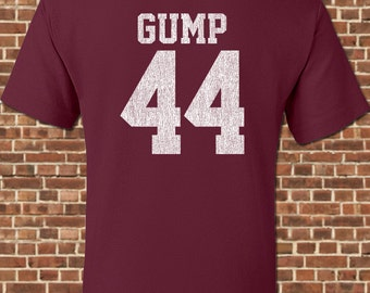 GUMP FOOTBALL mens T-Shirt all sizes available funny greenbow alabama forrest coach bear bryant football jersey vintage tee UG250