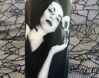 Vampira Unscented White Pillar Candle