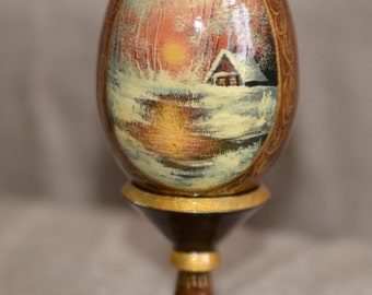 Egg 'Winter landscape'