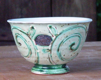 Handmade Ceramic Soup Bowl, Pottery Cereal Bowl, Salad Bowl, Ice Cream Bowl, Fruit Serving Bowl, Candy Bowl, Nuts Bowl