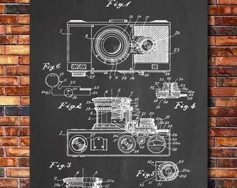 Camera Patent Print Art 1936
