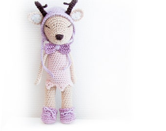 Crochet Pattern - Hjertrud the Deer