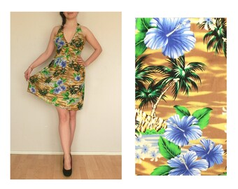 Retro dress Summer vintage