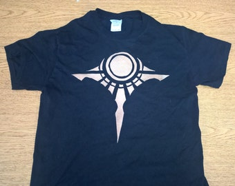Crest of Shurima League of Legends Bleached Shirt