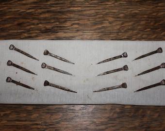 2 1/4 inch Vintage nails