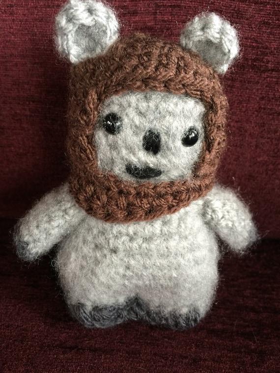 Star Wars Chief Chirpa the Ewok Amigurumi hand crocheted