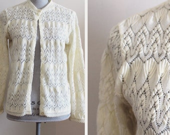 Dream Weaver Cardigan | vintage 1970s sweater