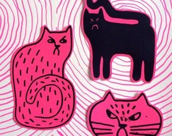 Mad Cat Stickerpack!