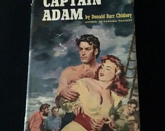 "Novel ""Captain Adam"": Donald Barr Chidsey    VG0005"