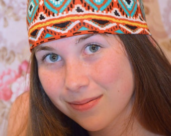 Tribal Thick Yoga Headband