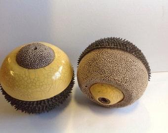 Embodied Cognition series- handheld ceramic sculptures