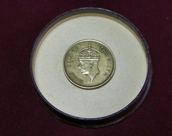 Part English TEN CENTS   George VI. Hong Kong   Availability years: 1950