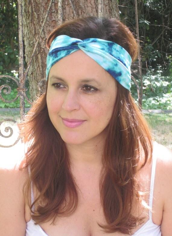Hippie Tie Dye Headband Hippie ◅ ▻ Tie Dye