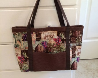 Winery tote