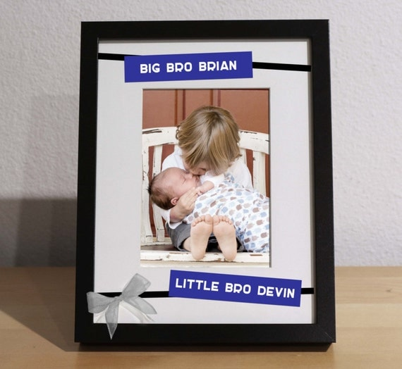 Baby Gifts For Big Brother : Baby brother gift big and little brothers