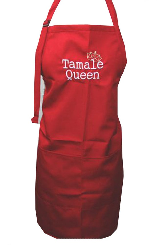Tamale Queen with Crown (Adult Apron)